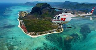 Mauritius Waterfalls Aerial Tour - Helicopter tour