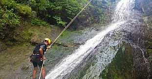 Half Day Canyoning Excursion - Rivière Papayes