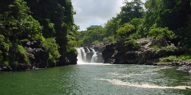 12 Grand Riviere Sud East waterfalls